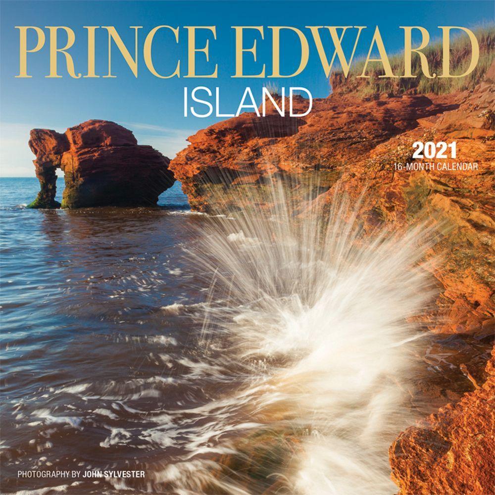 2021 Prince Edward Island Mini Wall Calendar