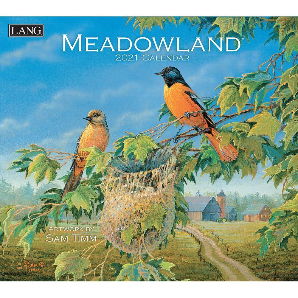 2021 Meadowland Wall Calendar by Sam Timm