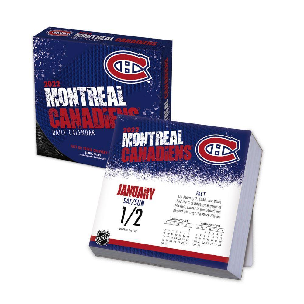 Montreal Canadiens 2022 Desk Calendar