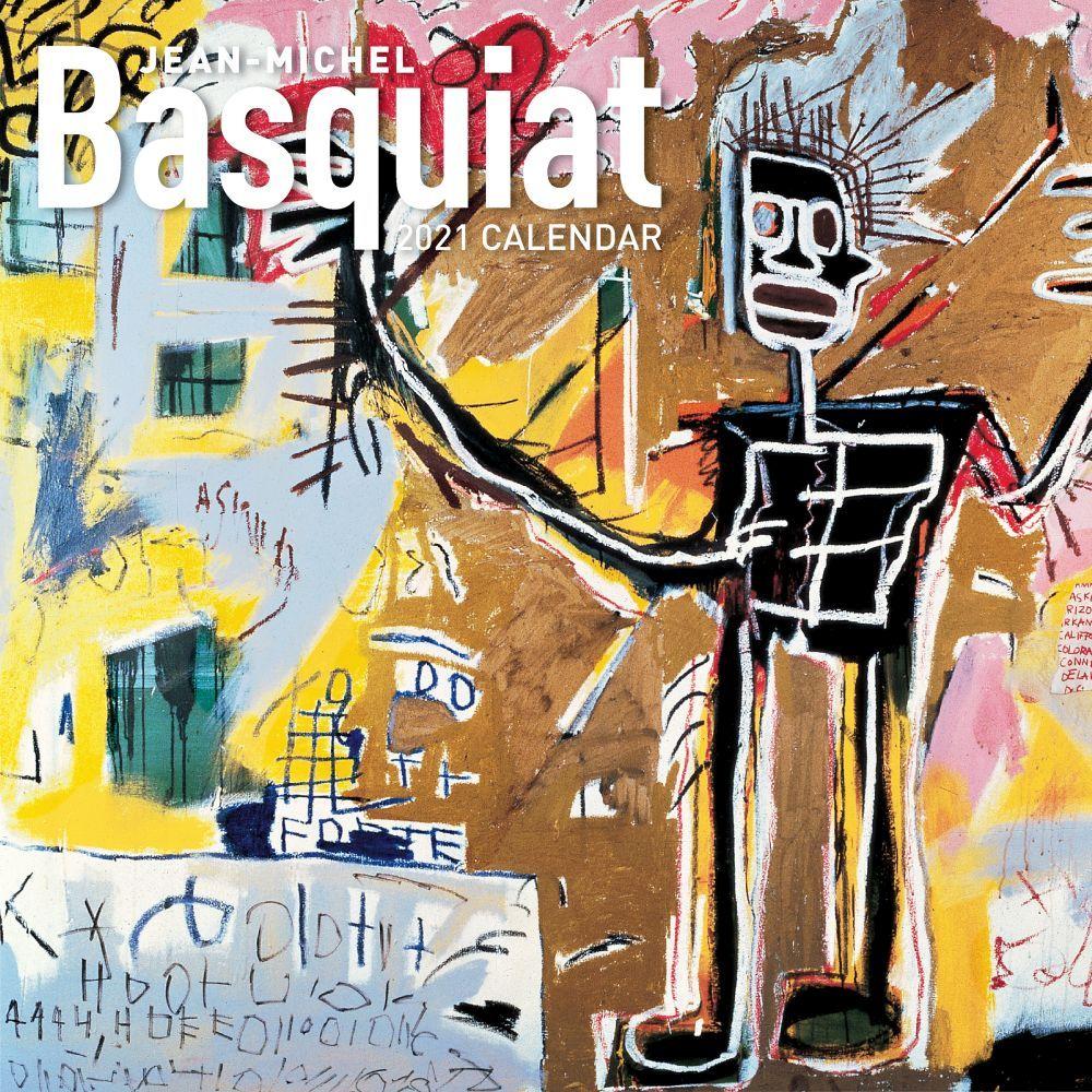 2021 Basquiat Wall Calendar