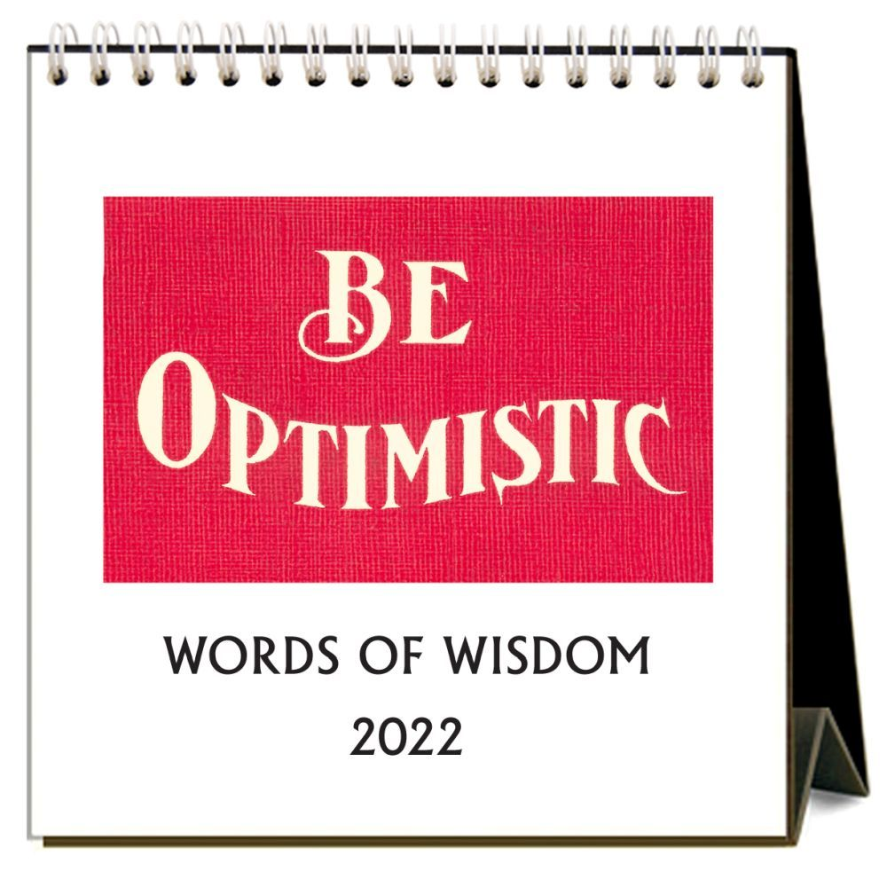 Words of Wisdom 2022 Desk Calendar