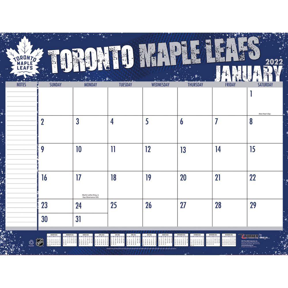 Toronto Maple Leafs 2022 Desk Pad