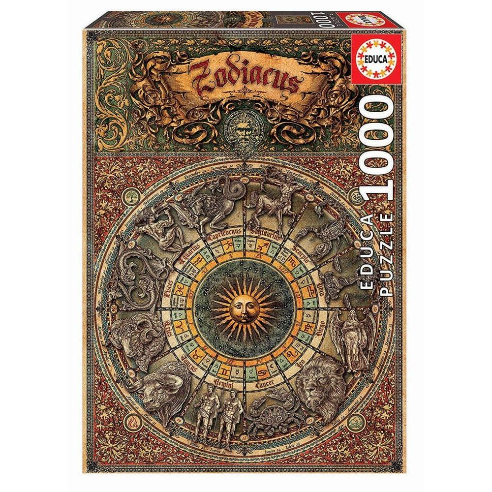 Best Zodiac 1000pc Puzzle You Can Buy