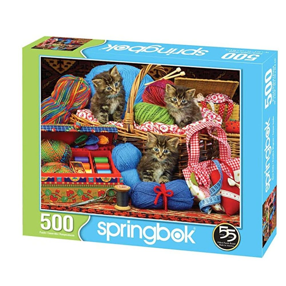 Best Sew Cute 500 Piece Puzzle You Can Buy