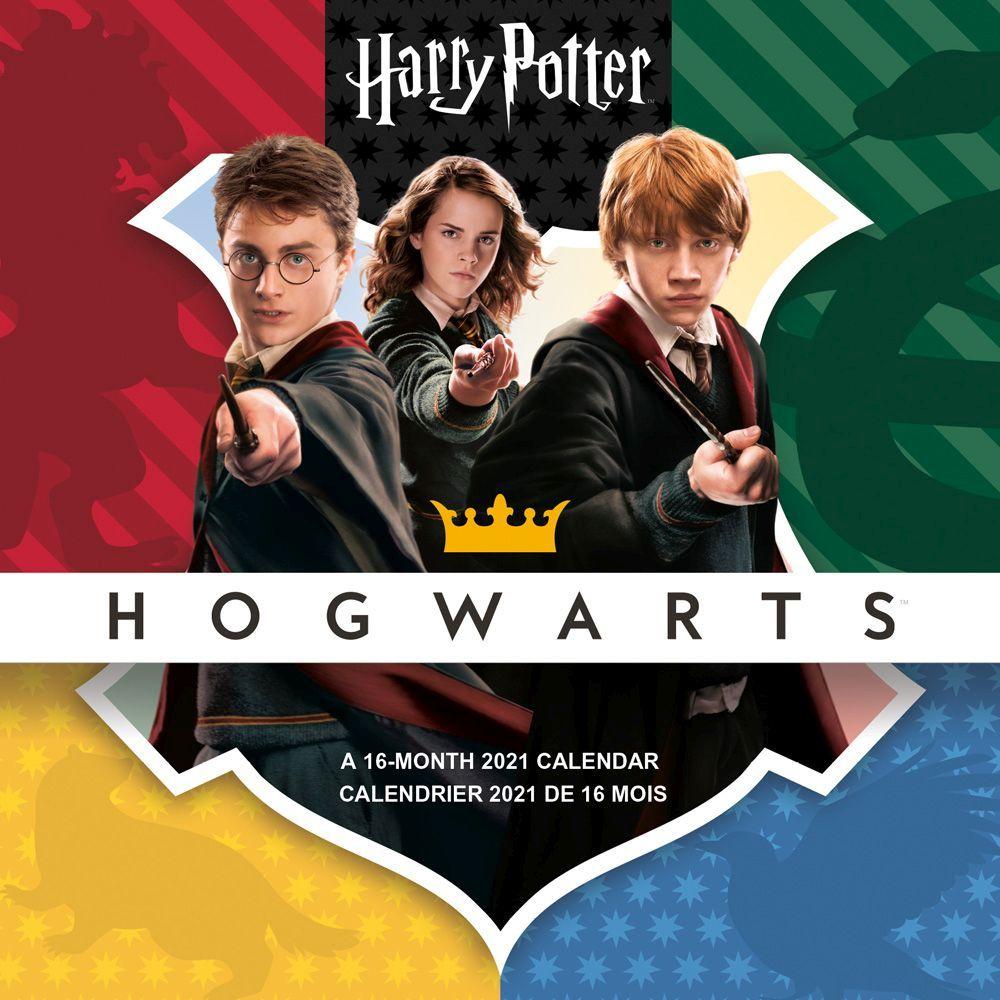 Harry Potter 2021 Wall Calendar FR