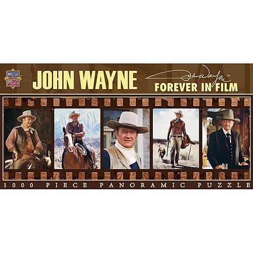 Best John Wayne Forever in Film 1000 Piece Puzzle You Can Buy