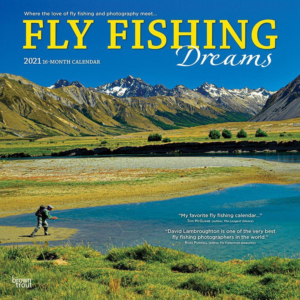 Fly Fishing Dreams 2021 Wall Calendar
