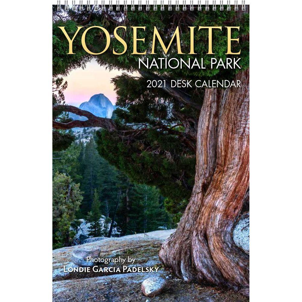 2021 Yosemite National Park Easel Calendar