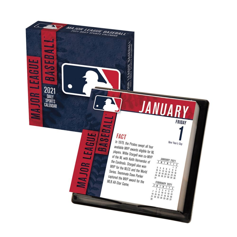 2021 MLB All Team Desk Calendar