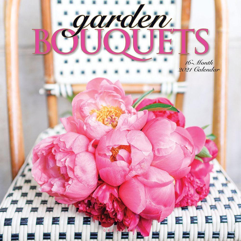2021 Garden Bouquets Wall Calendar