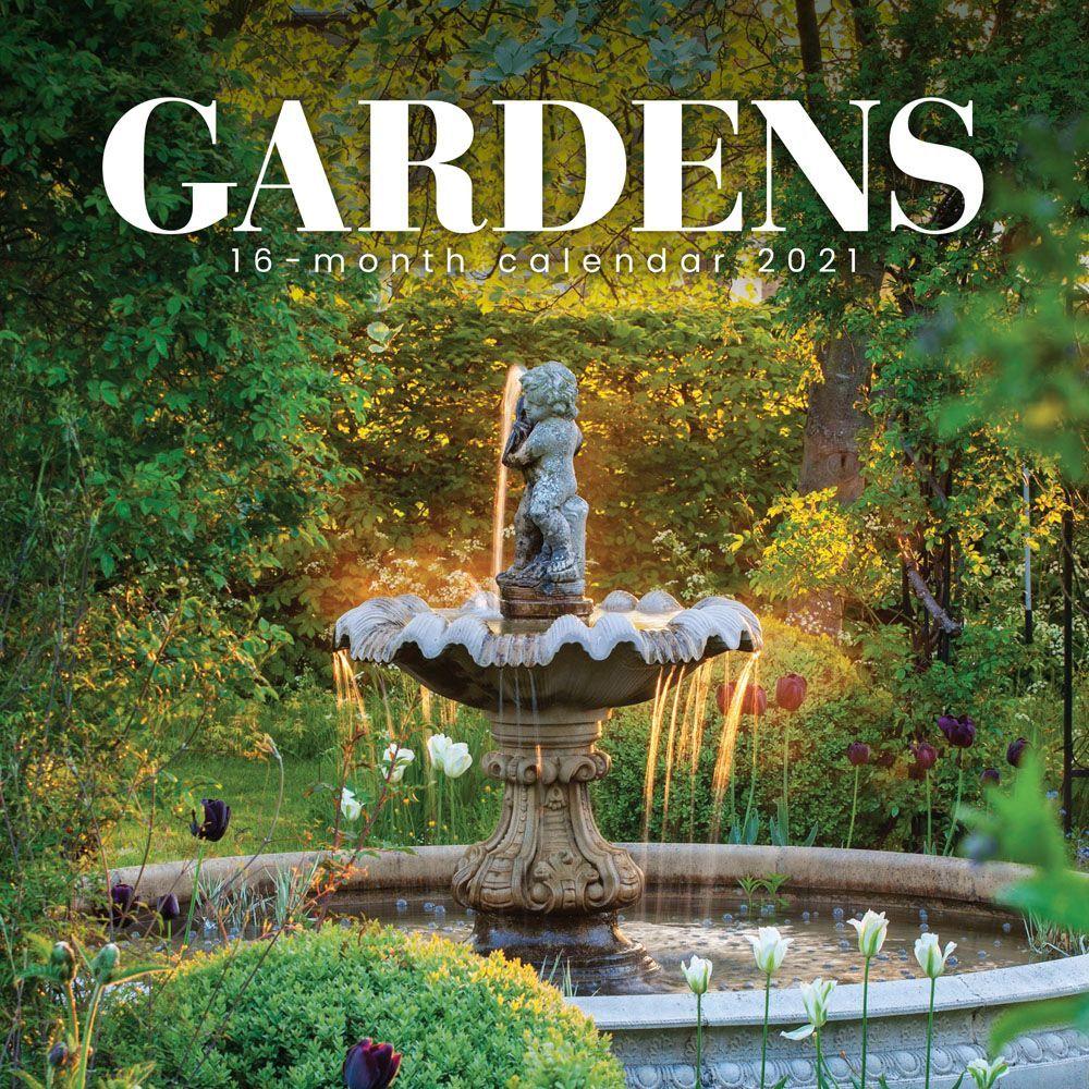 2021 Gardens Mini Wall Calendar