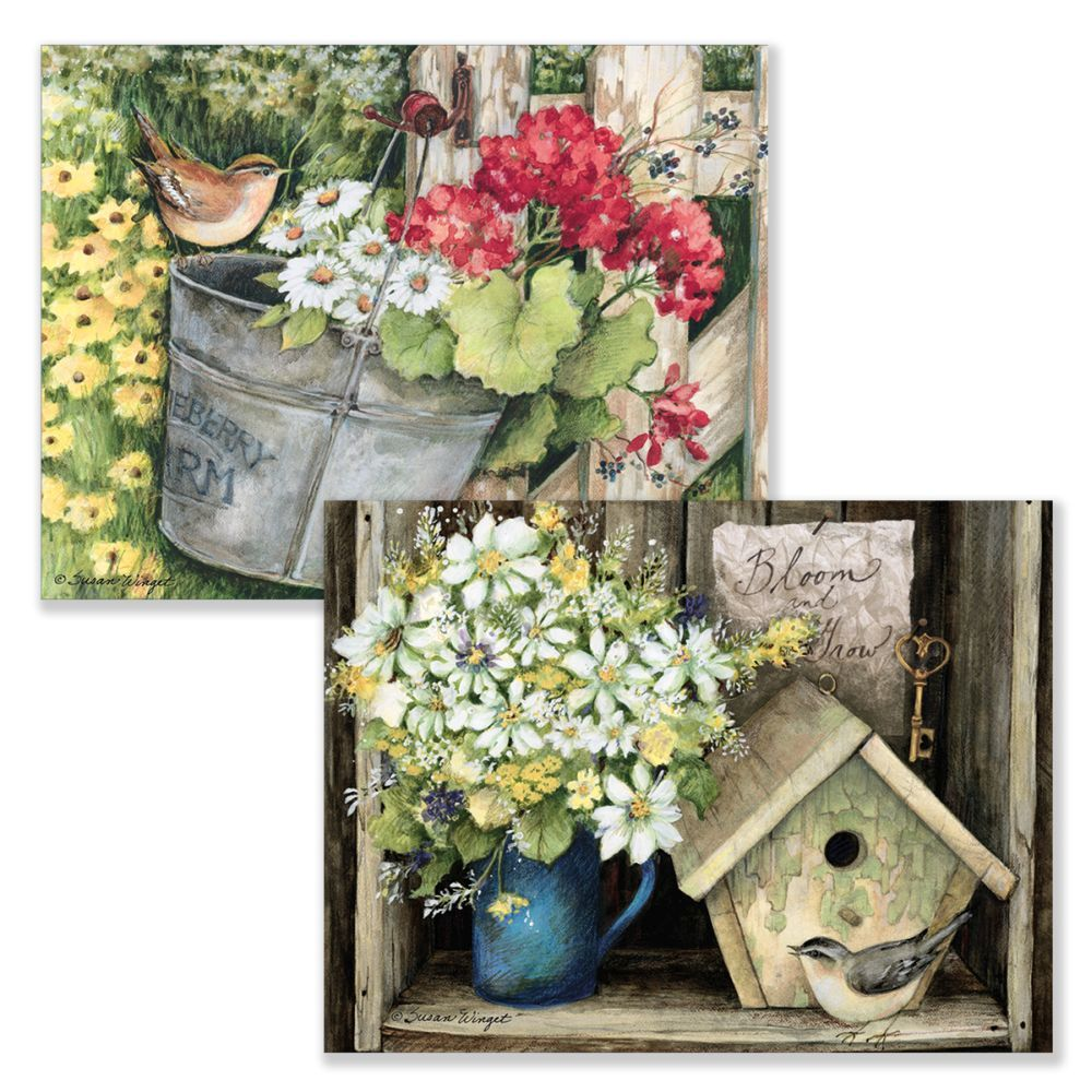 Birdhouse-&-Fence-Assorted-Boxed-Note-Cards-2