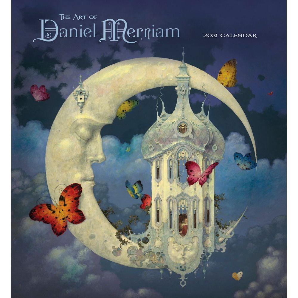 2021 The Art of Daniel Merriam Wall Calendar