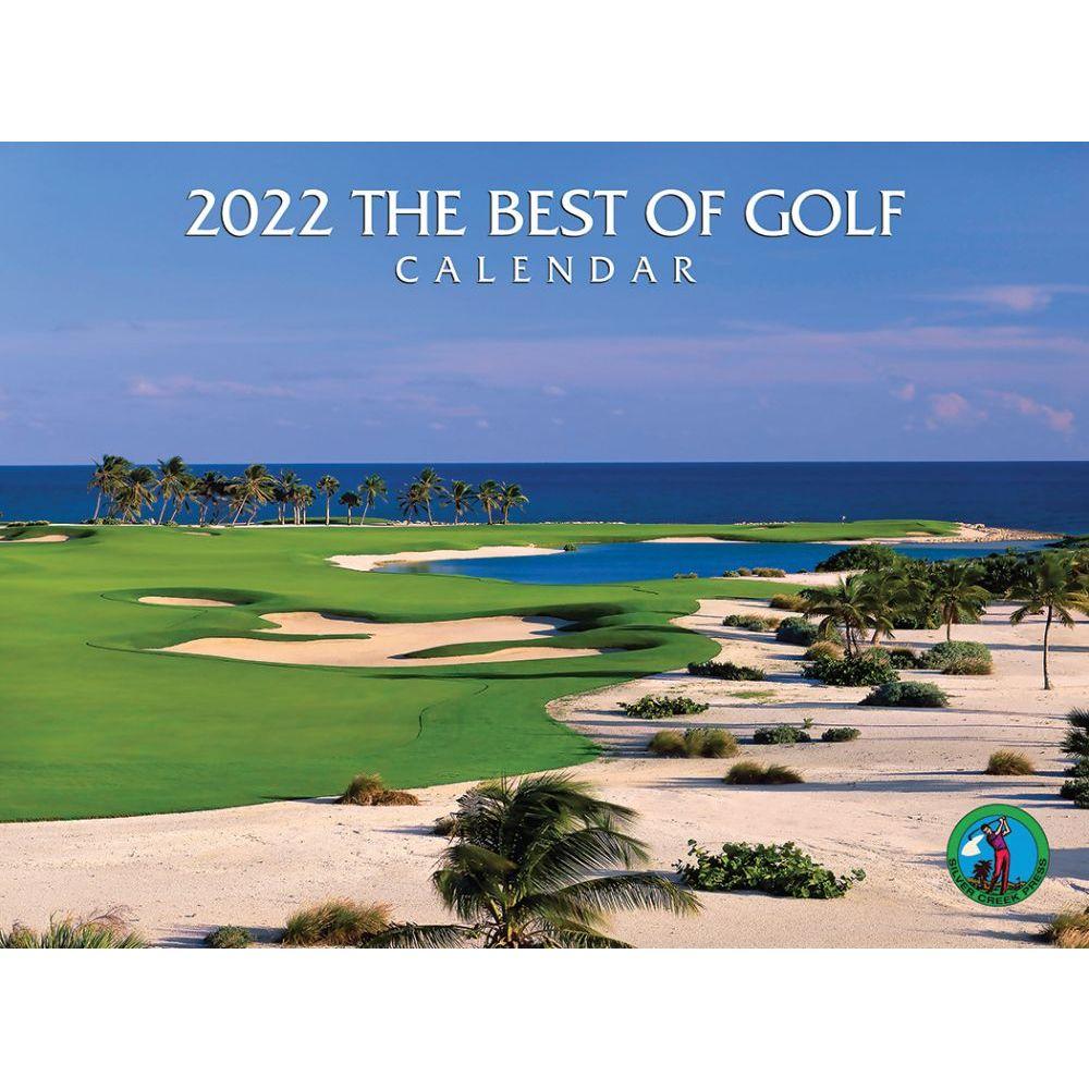 Best of Golf 2022 Wall Calendar