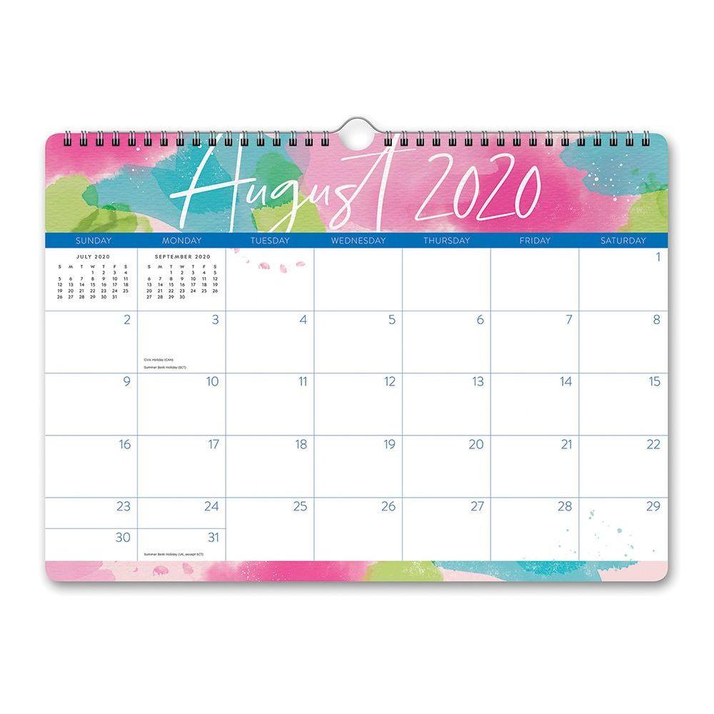 2021 Aquarelle Deluxe Wall Calendar