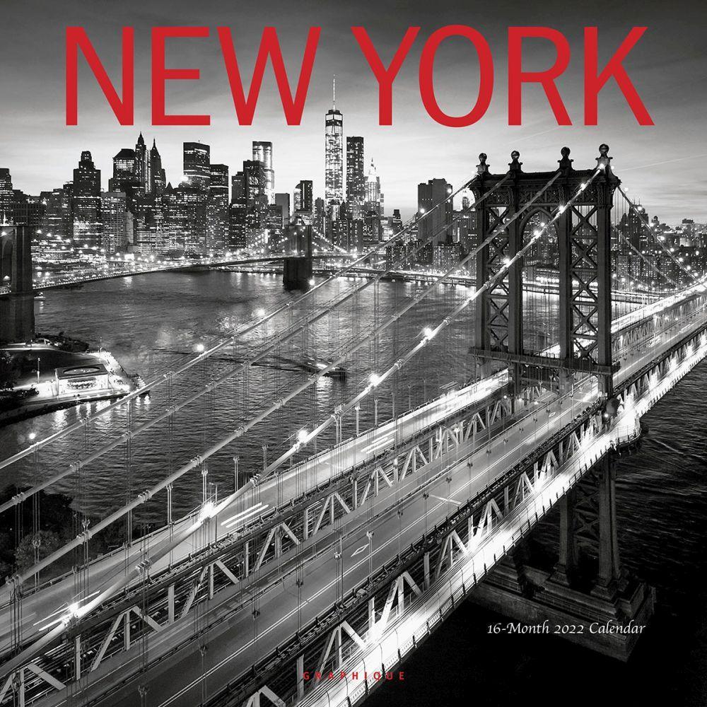 New York 2022 Wall Calendar