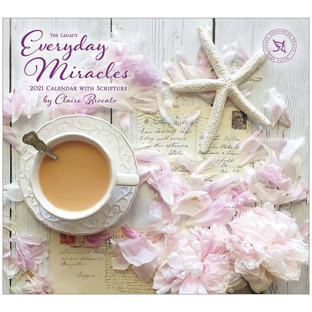 2021 Everyday Miracles Wall Calendar