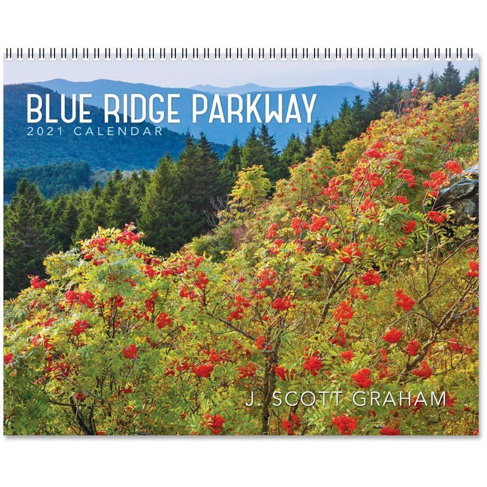 2021 Blue Ridge Parkway Spiral Wall Calendar