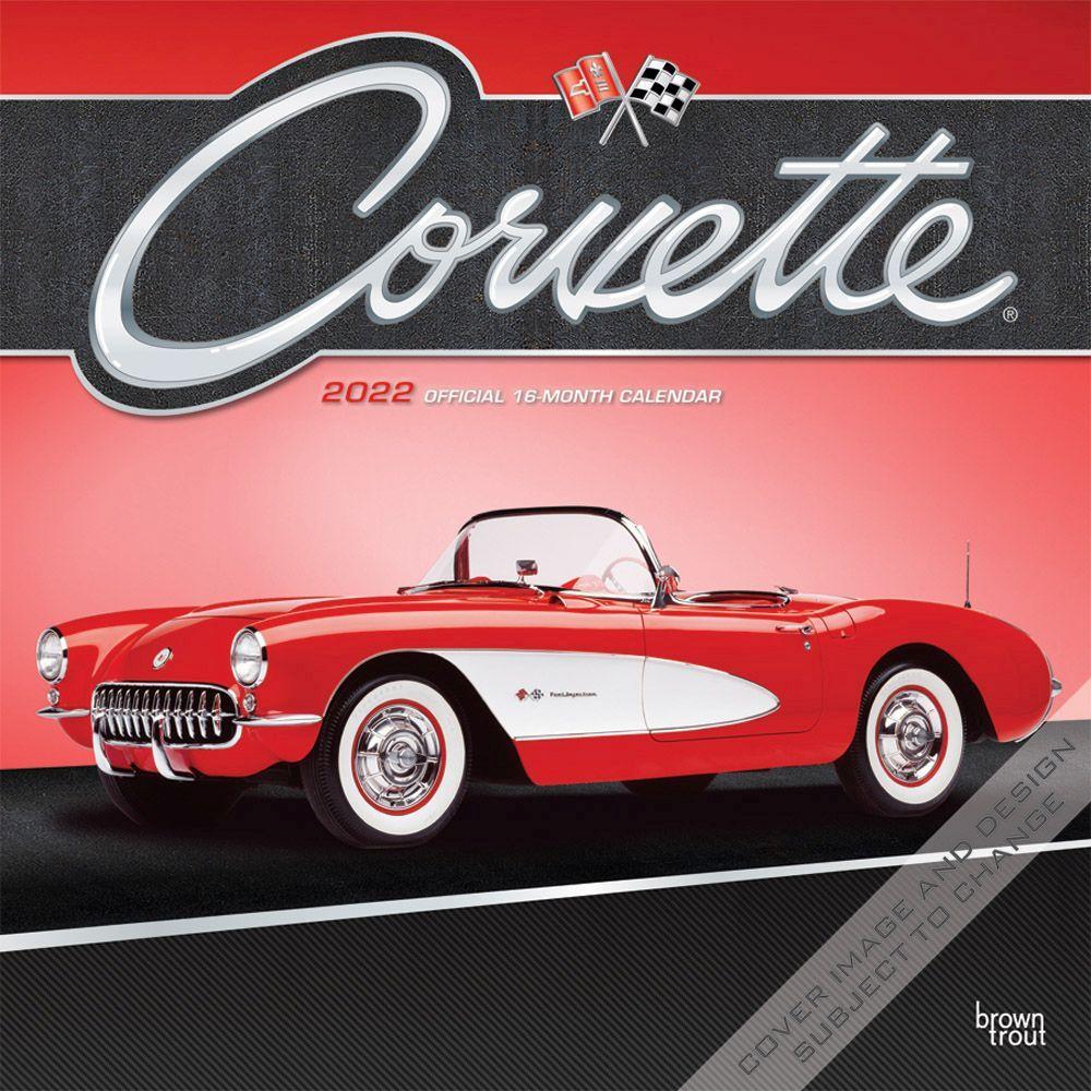 Corvette 2022 Wall Calendar