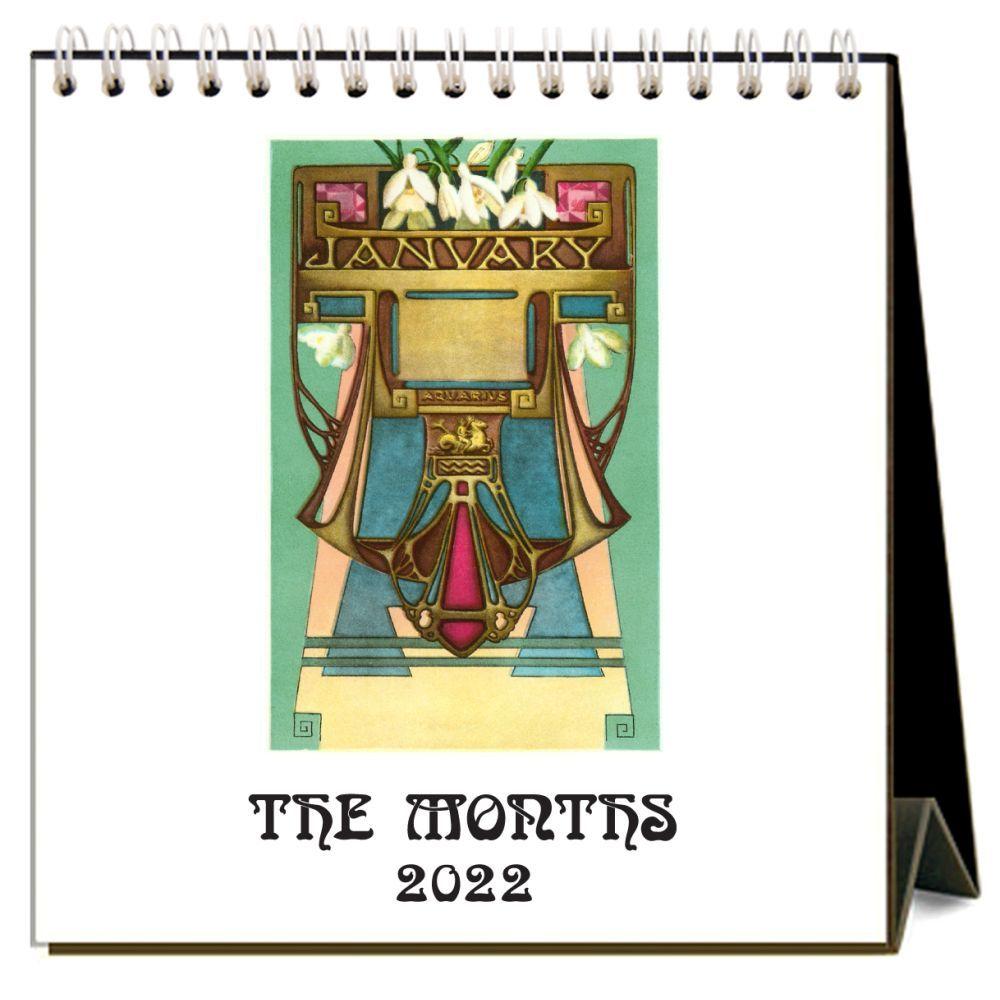 The Months 2022 Desk Calendar
