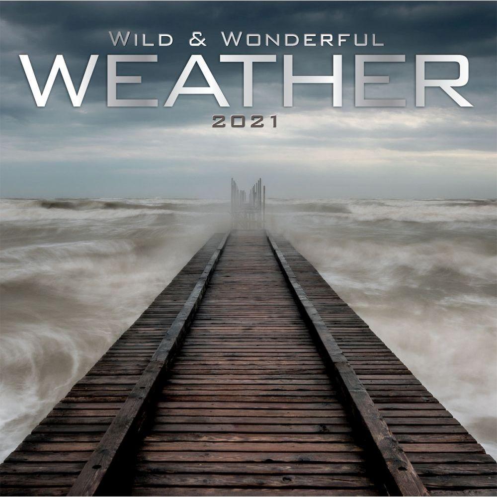 Wild & Wonderful Weather 2021 Photo Mini Wall Calendar