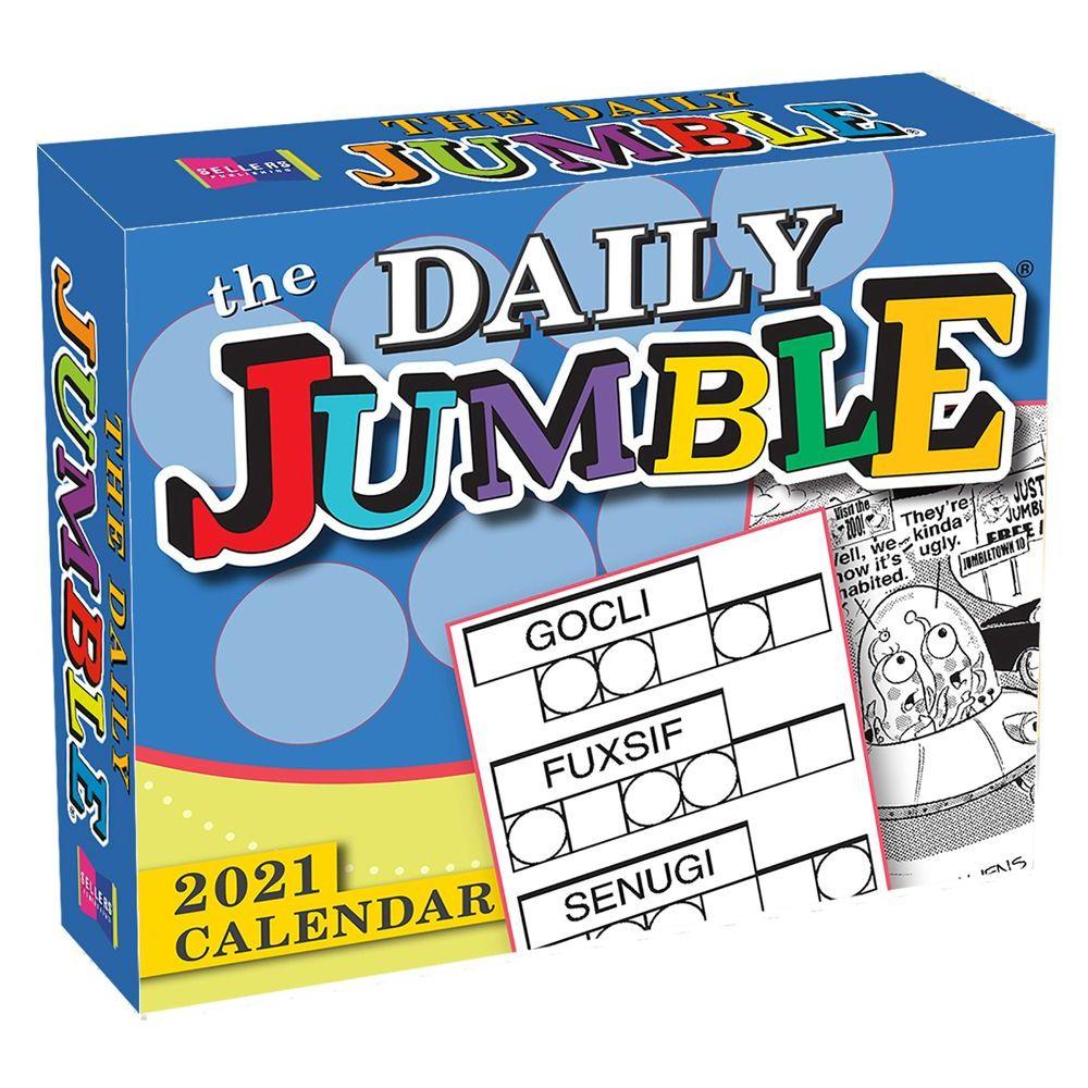 Daily Jumble 2021 Desk Calendar