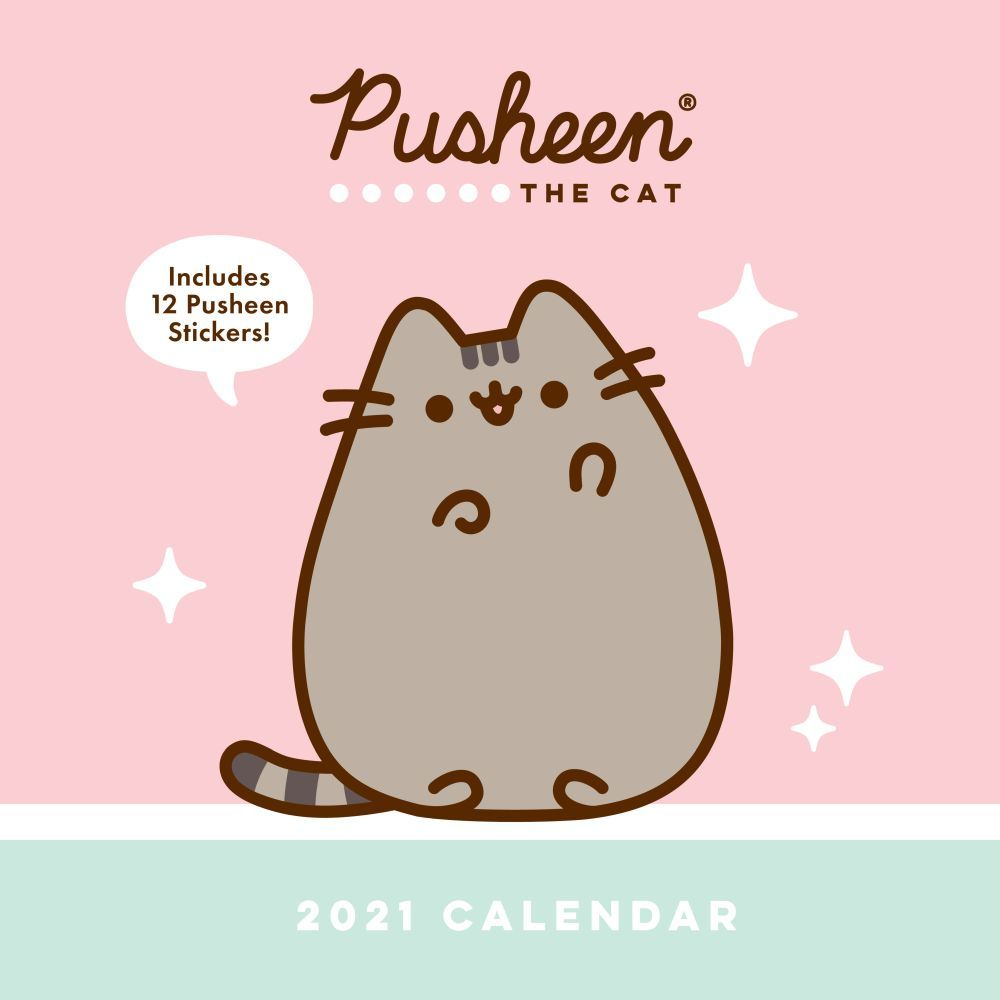 2021 Pusheen Wall Calendar
