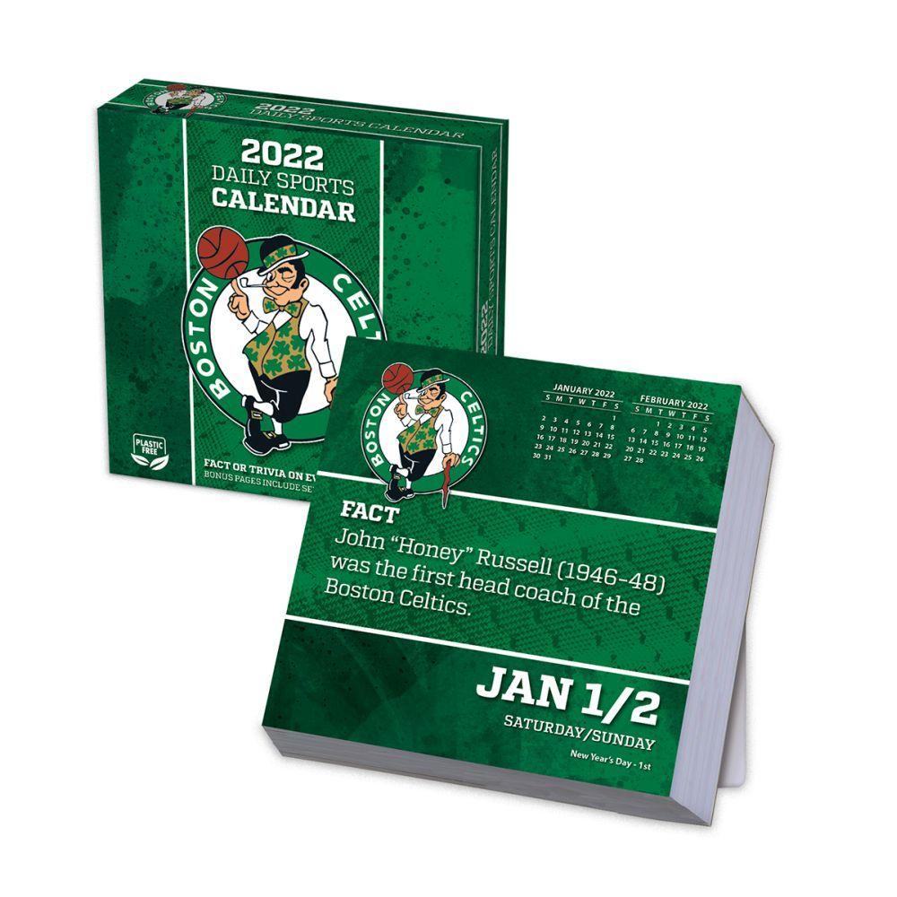 Boston Celtics 2022 Desk Calendar