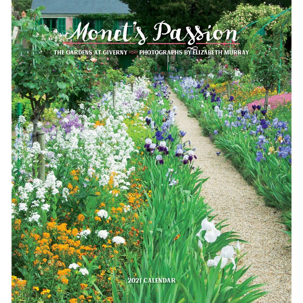2021 Monets Passion Wall Calendar