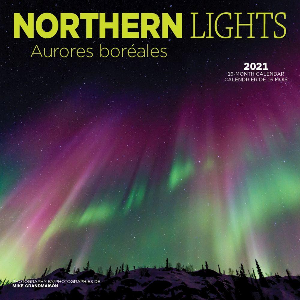 Northern Lights 2021 Wall Calendar