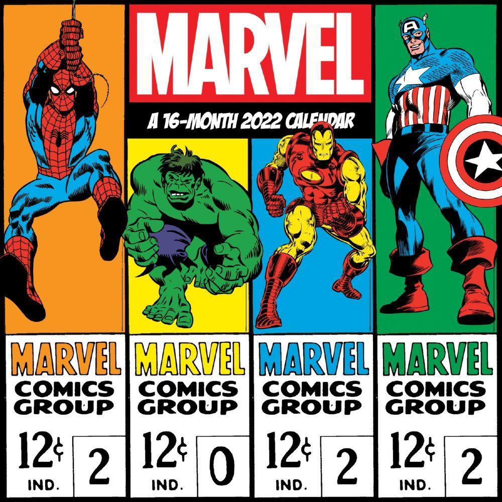 Marvel Comics 2022 Mini Wall Calendar
