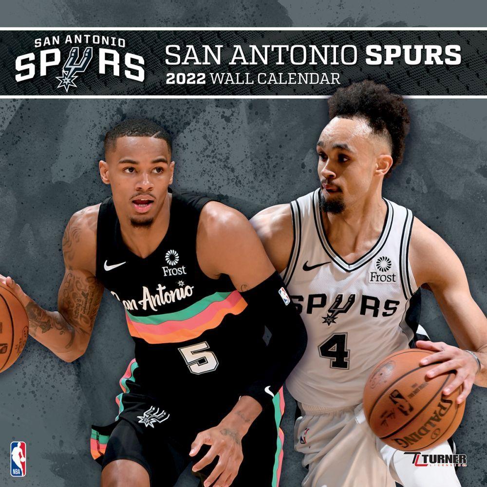 San Antonio Spurs 2022 Wall Calendar