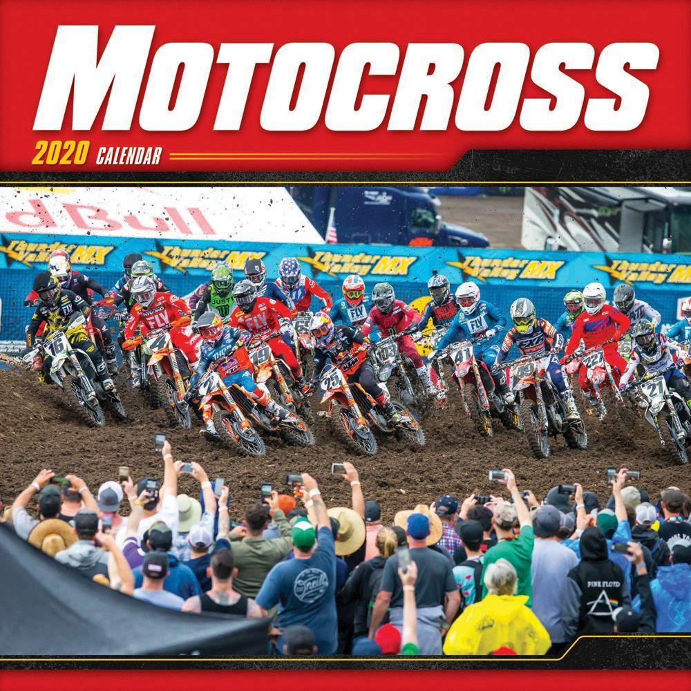 Motocross 2021 Wall Calendar