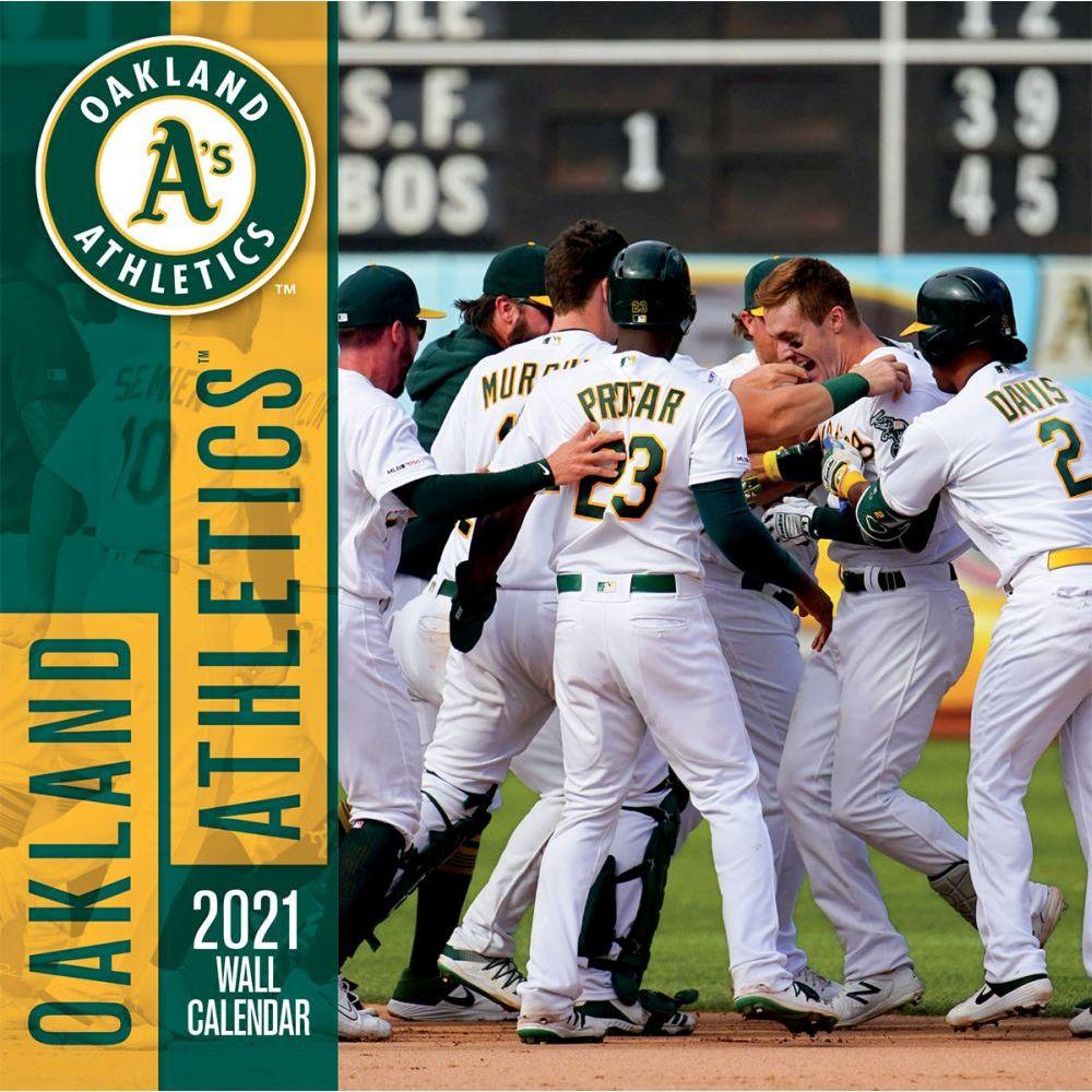 Oakland Athletics 2021 Wall Calendar