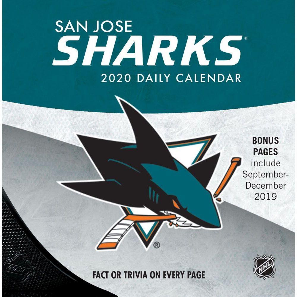 San Jose Sharks 2021 Desk Calendar