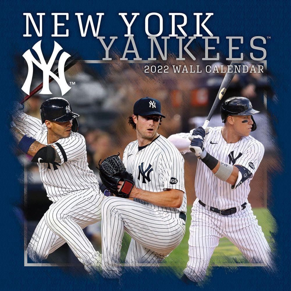 New York Yankees 2022 Wall Calendar