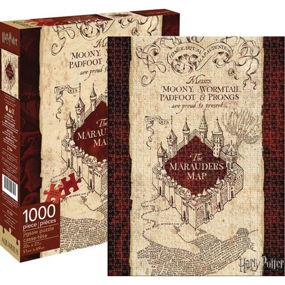 Best HP Marauders Map 1000pc Puzzle You Can Buy