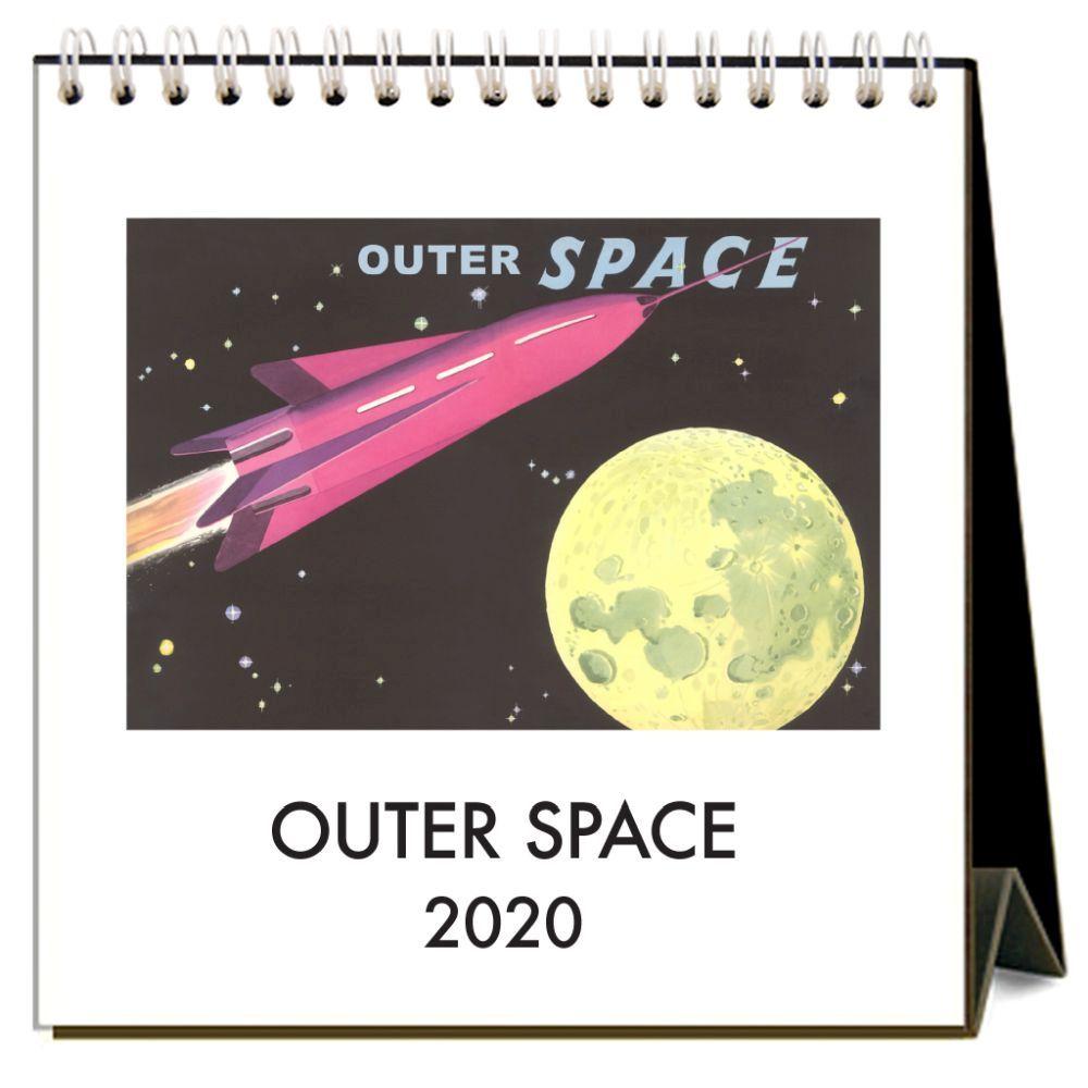 Outer Space 2021 Easel Calendar