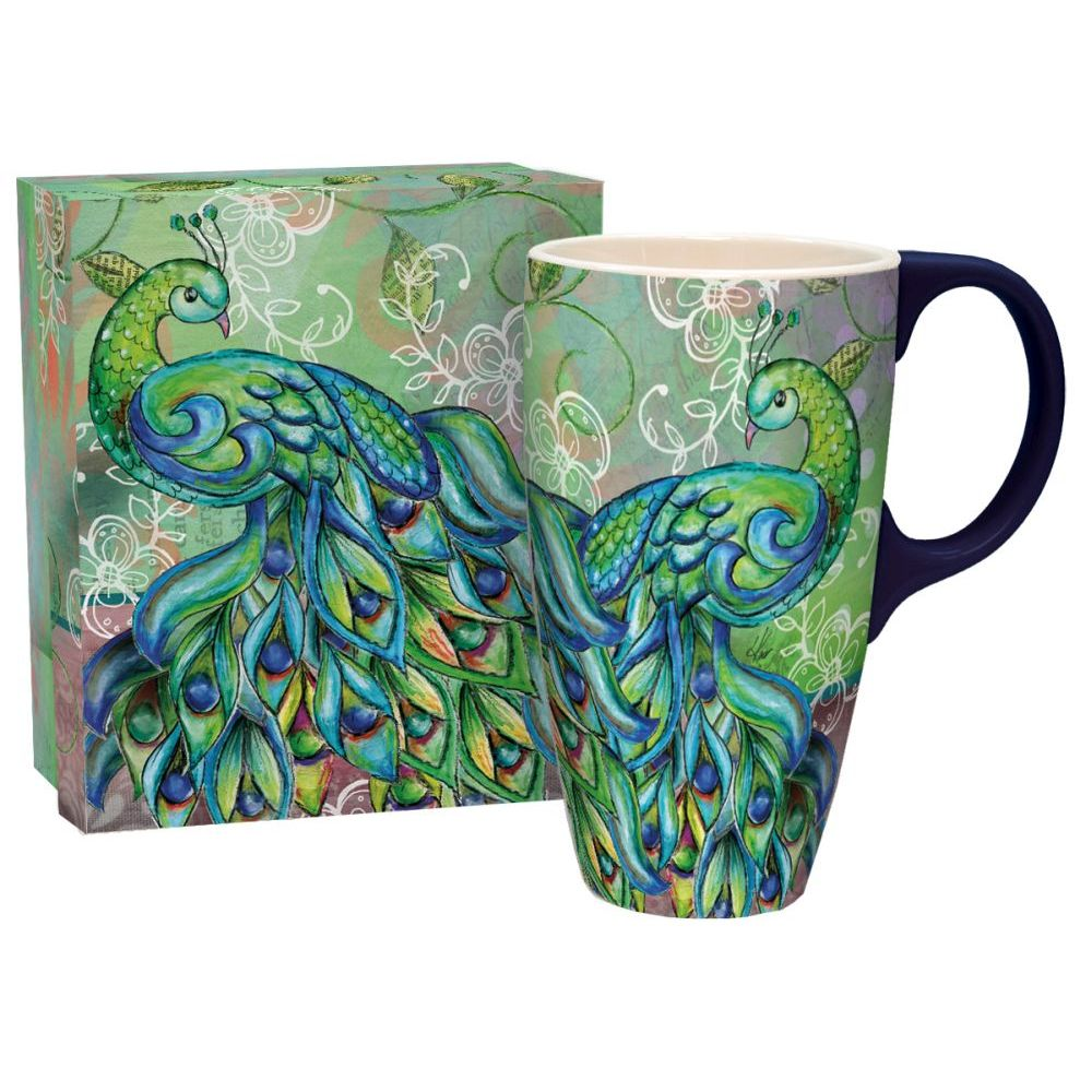 Pretty-Peacock-Lang-Latte-Mug-1