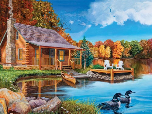 Loon-Lake-500-Piece-Puzzle-1