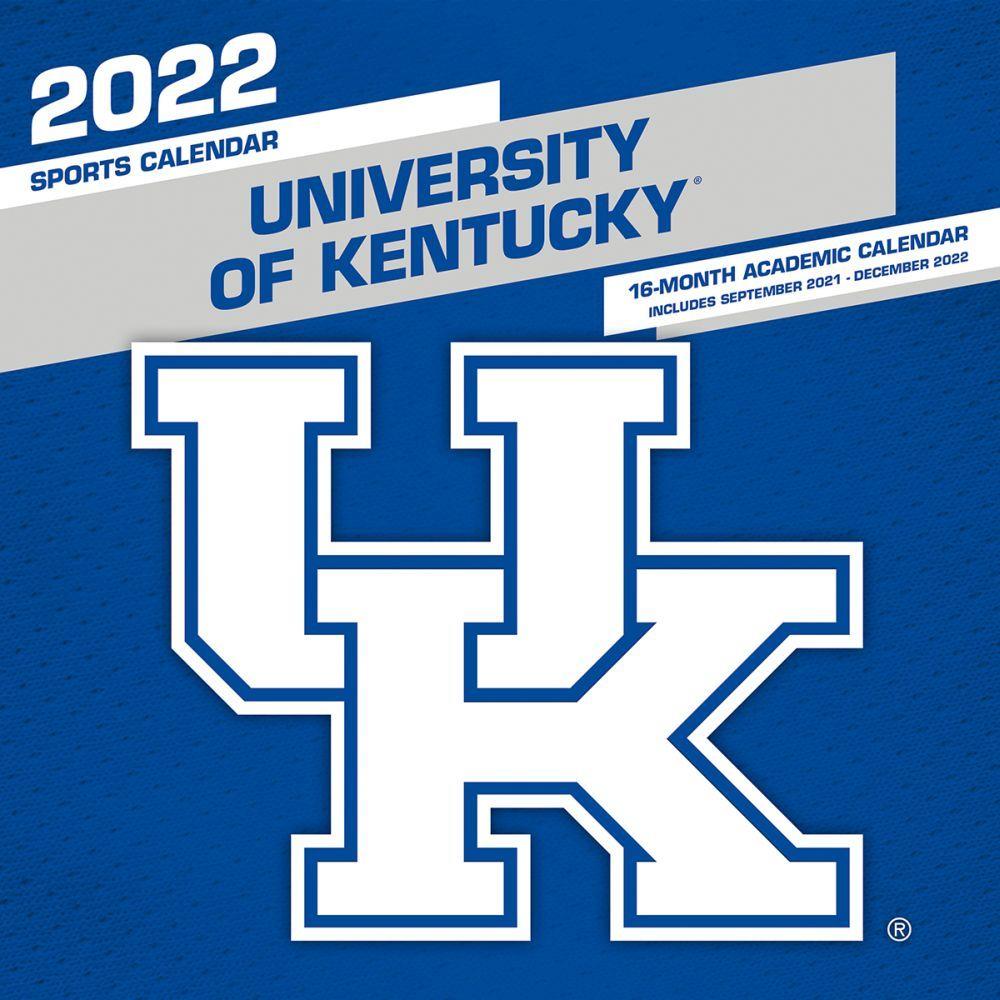 University of Kentucky Wildcats 2022 Wall Calendar