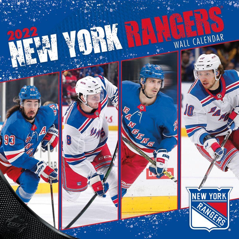 New York Rangers 2022 Wall Calendar