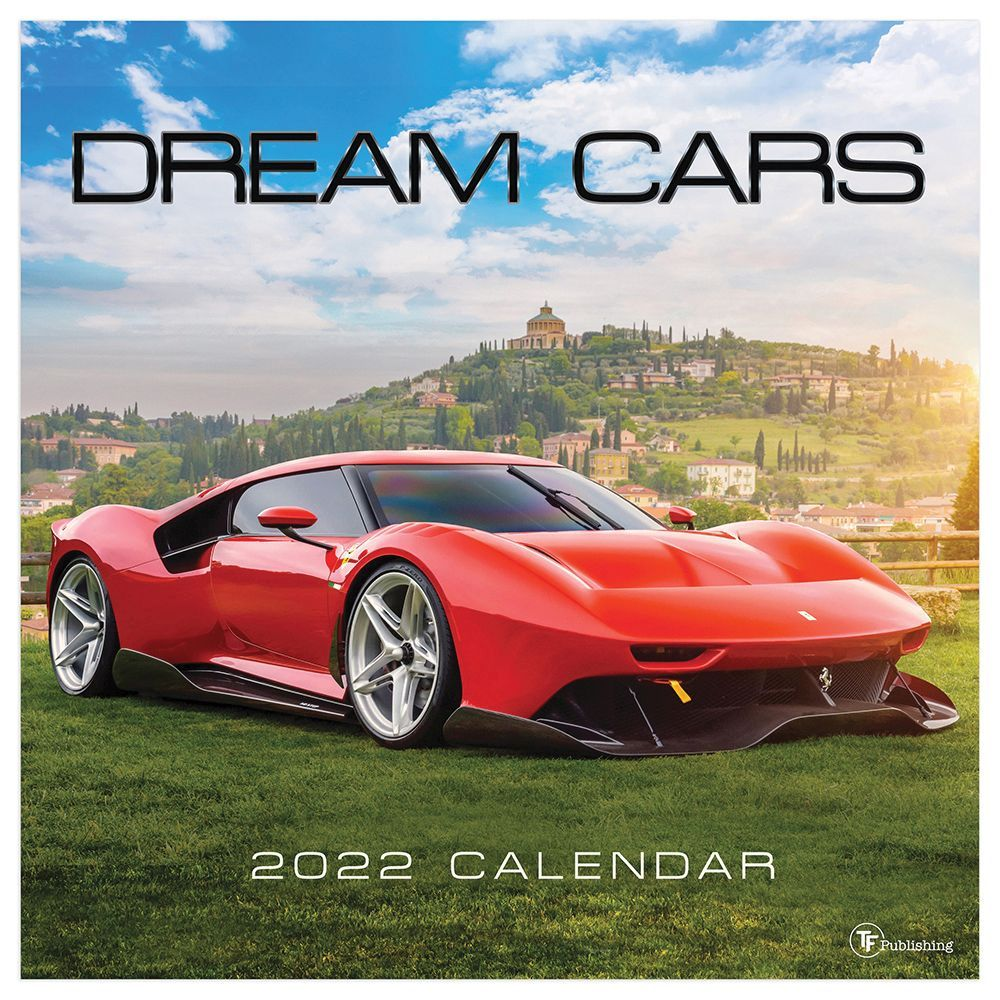 Dream Cars 2022 Wall Calendar