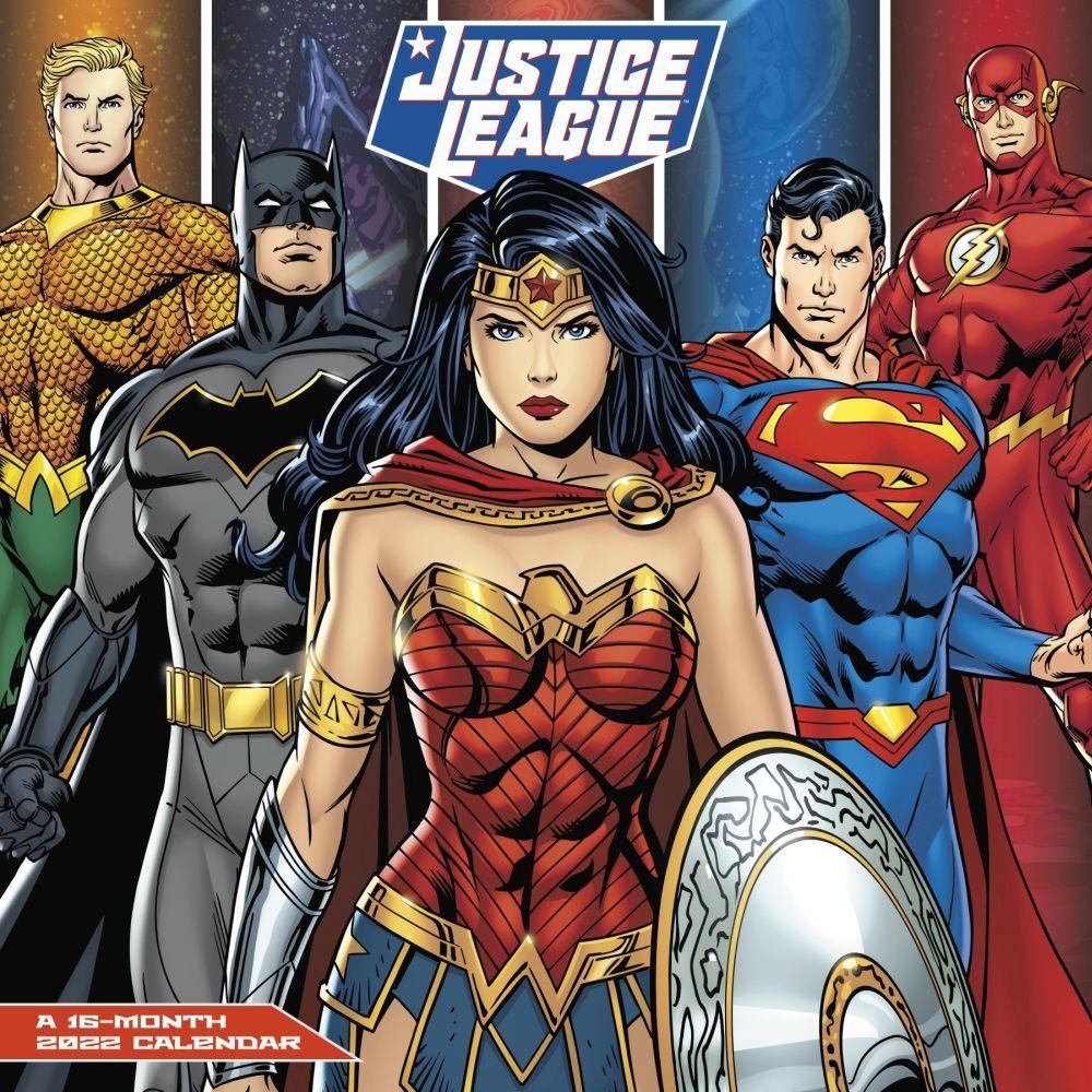 Justice League Classic 2022 Wall Calendar
