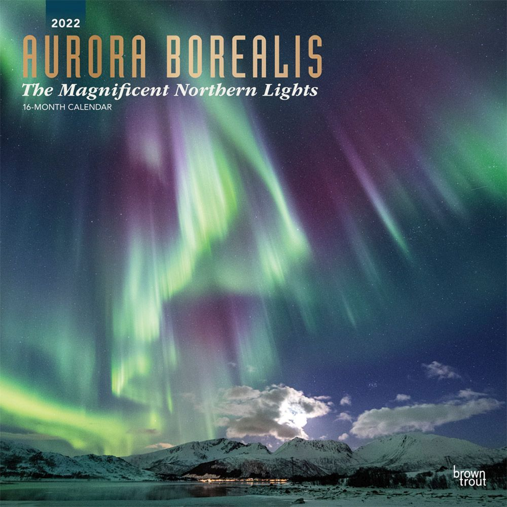 Aurora Borealis 2022 Wall Calendar