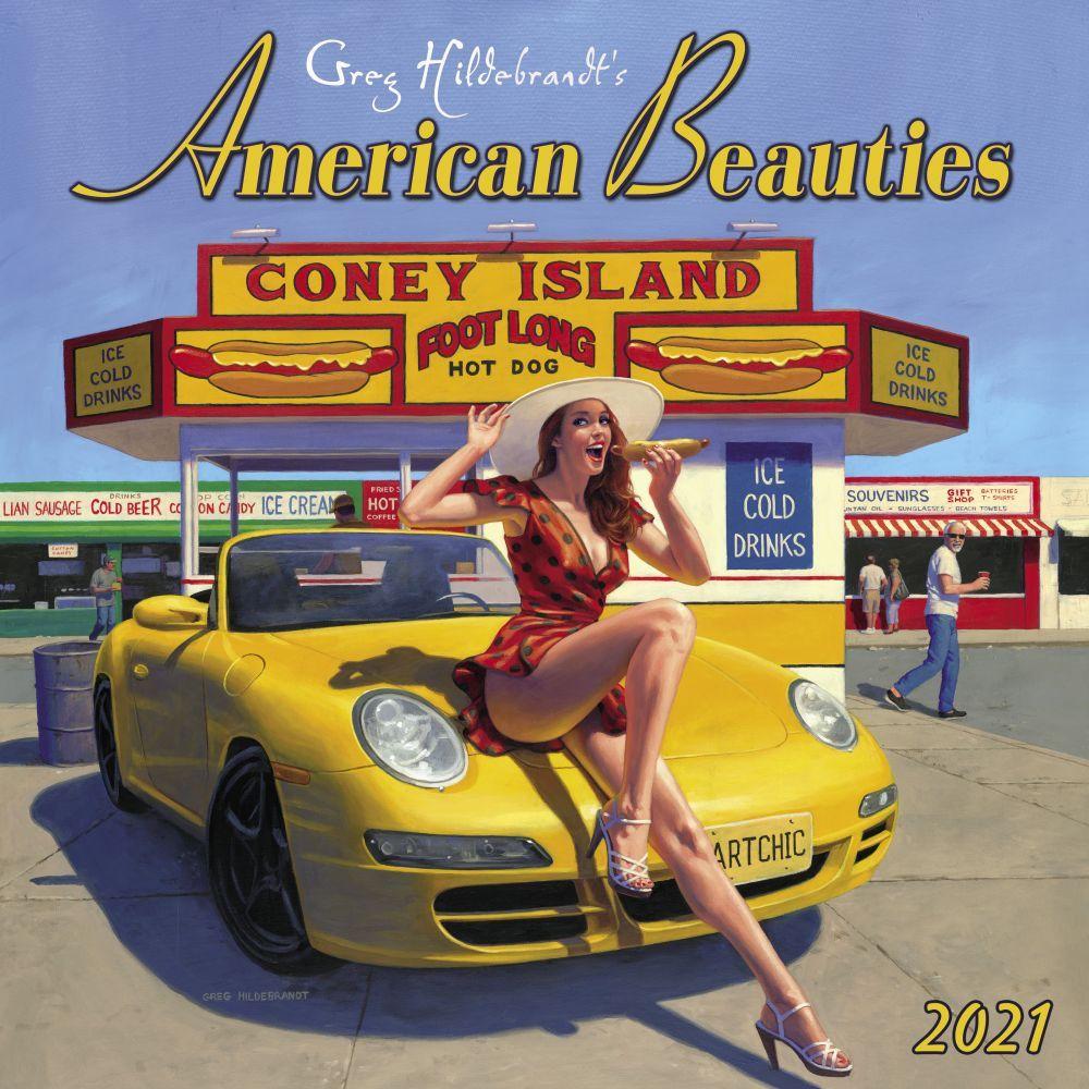 American Beauties 2021 Wall Calendar