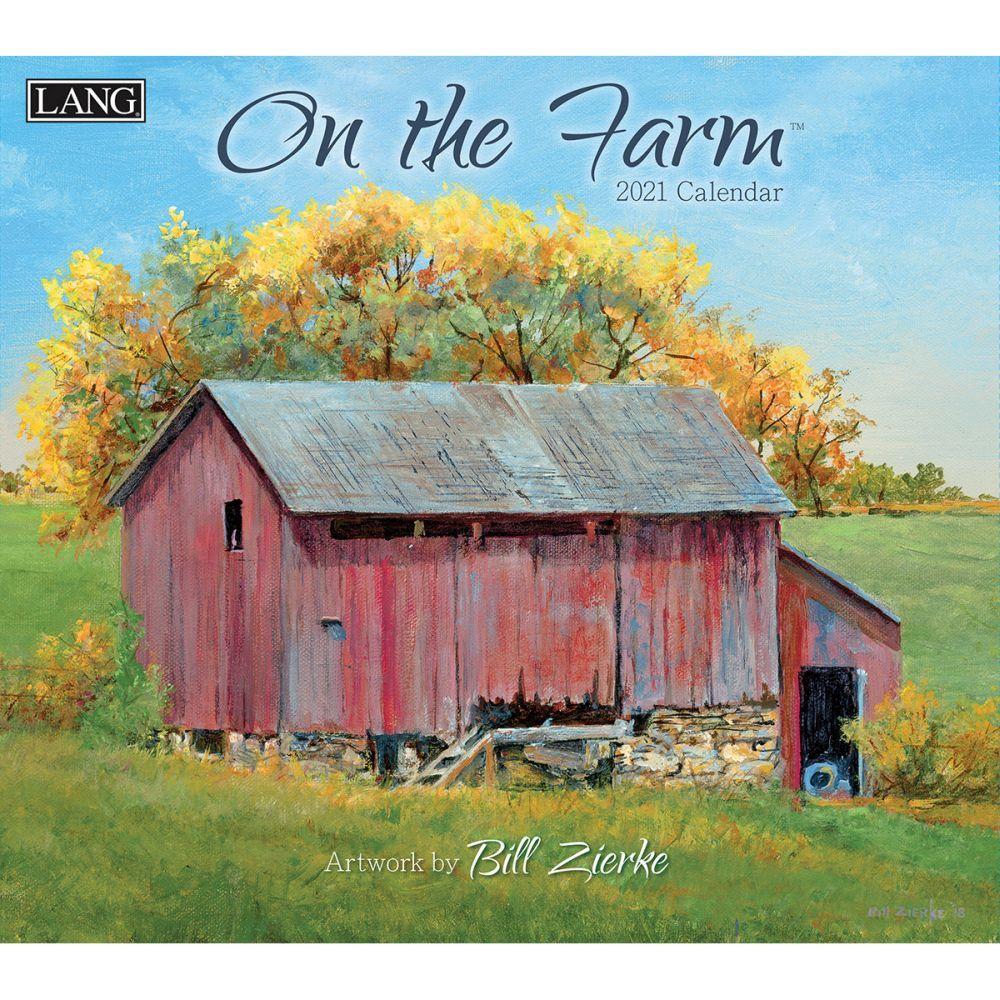 2021 On the Farm Wall Calendar by Bill Zierke
