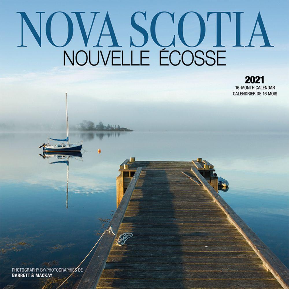 2021 Nova Scotia Wall Calendar