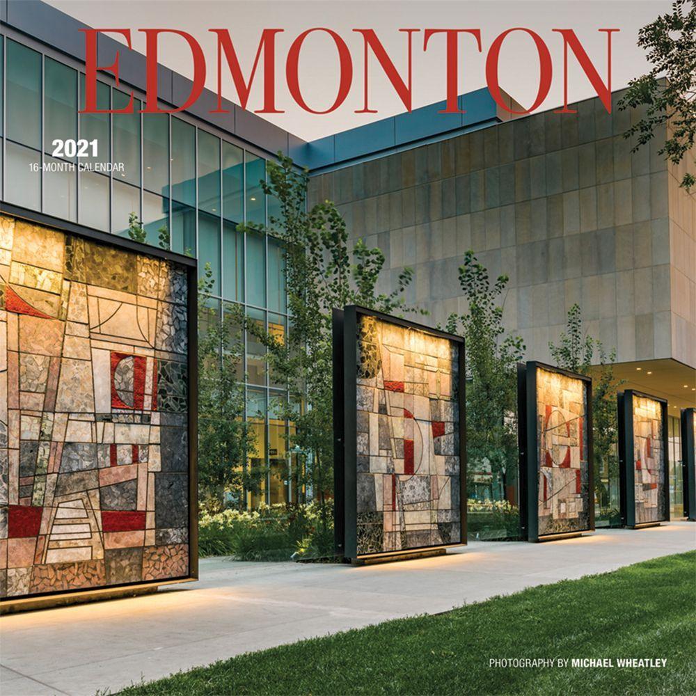 2021 Edmonton Wall Calendar