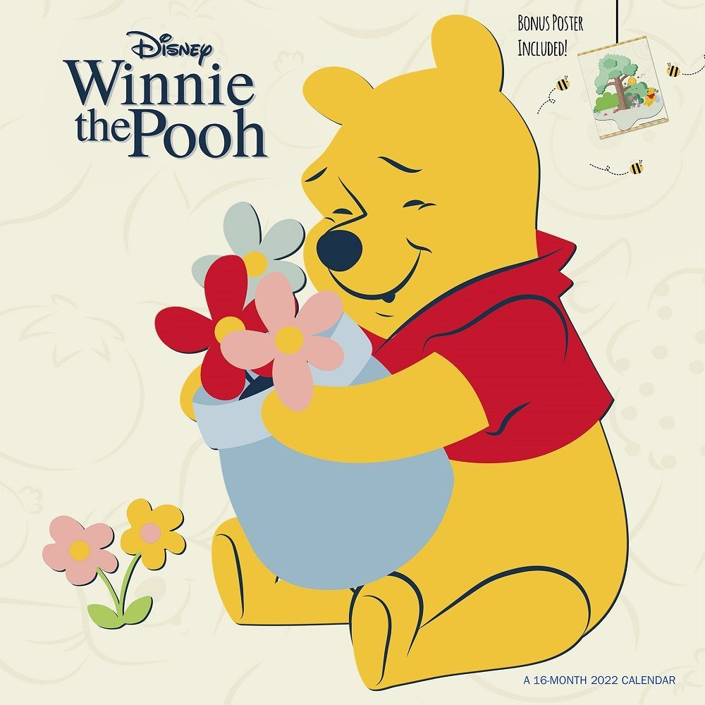 Winnie the Pooh 2022 Wall Calendar